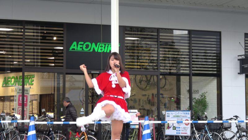 愛の葉Girls イオンモール今治新都市 X'mas LIVE 2部 20161224 00:10