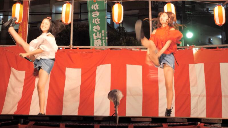 [4K]ご当地アイドルLIMITED 横手納涼祭[アイドル ライブ ステージ イベント] 00:11