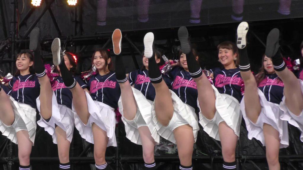 【4K】立命館大学 BLENDERS チアダンス ③ 学園祭 BKC祭 01:29