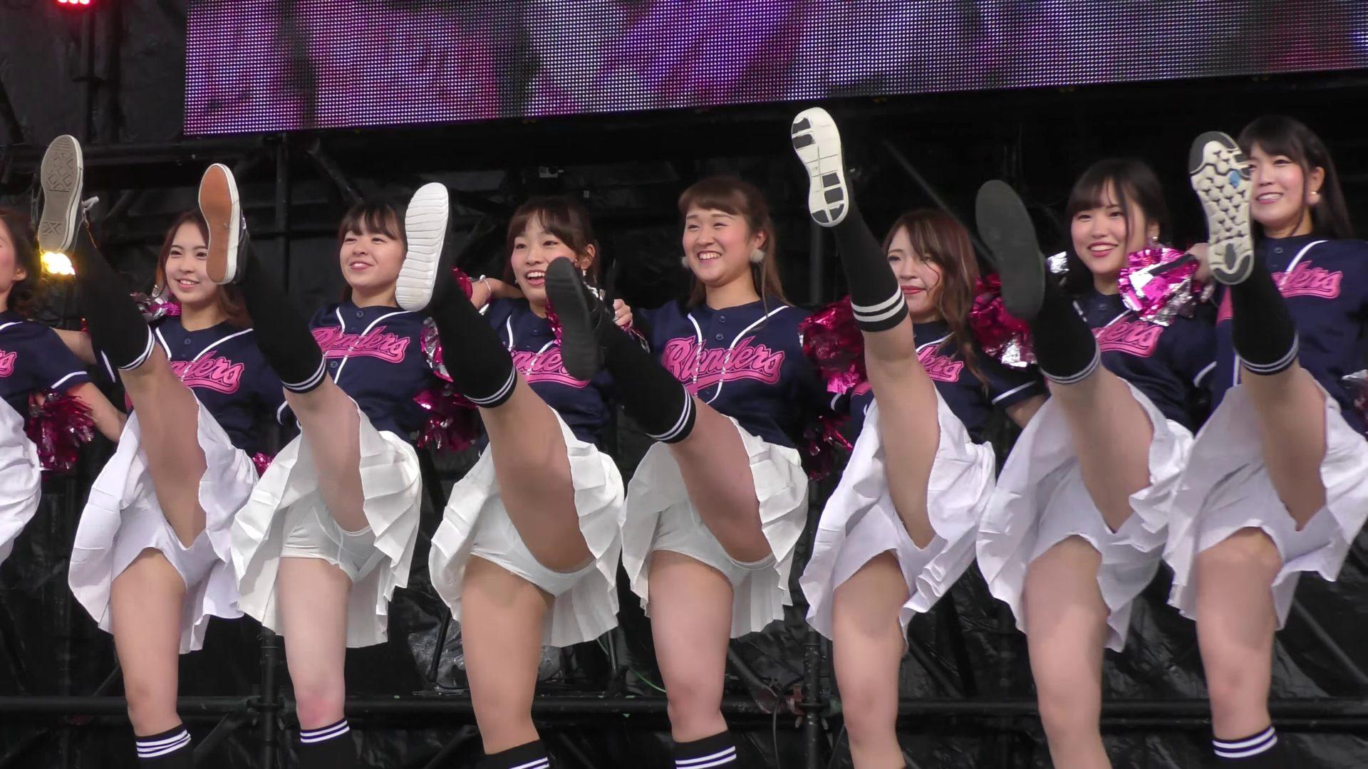【4K】立命館大学 BLENDERS チアダンス ③ 学園祭 BKC祭 01:31