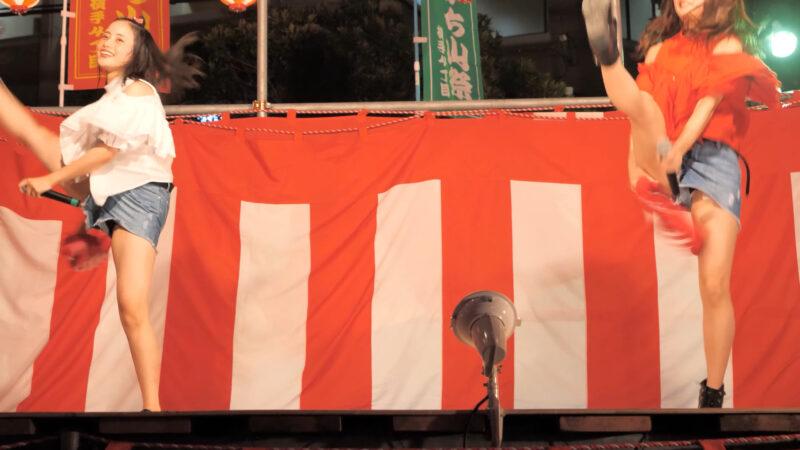 [4K]ご当地アイドルLIMITED 横手納涼祭[アイドル ライブ ステージ イベント] 01:39