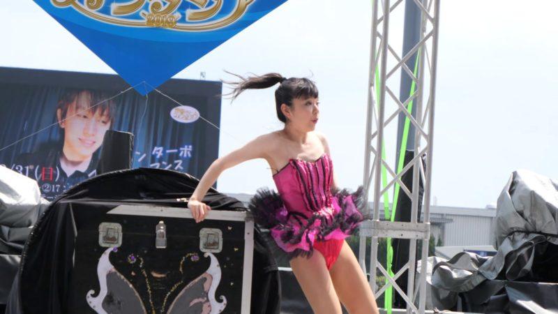 [4K]マジシャン ターボ&ハンナ マジックショー@下関ボート magic show 02:21