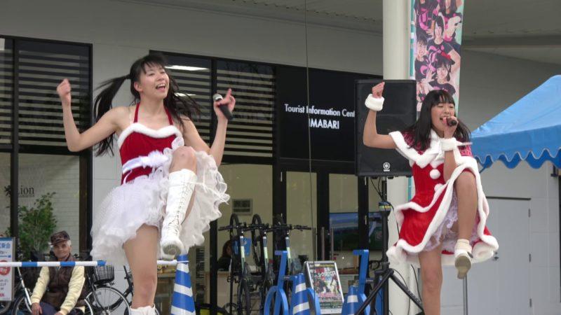 愛の葉Girls イオンモール今治新都市 X'mas LIVE 2部 20161224 03:16