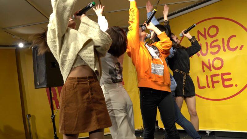 "【4K/a7ⅲ/2470GM】カメトレ(Japanese idol group ""KAMETORE"")1st.アルバム「ニンゲン」リリースイベント タワーレコード横浜ビブレ 2020年1月30日(木) 05:24"