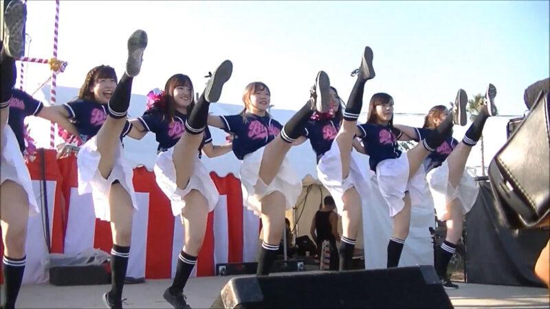 立命館大学チアダンスサークルBLENDERS@Kansai Cheerleader 2017 SummerⅡ 07:27