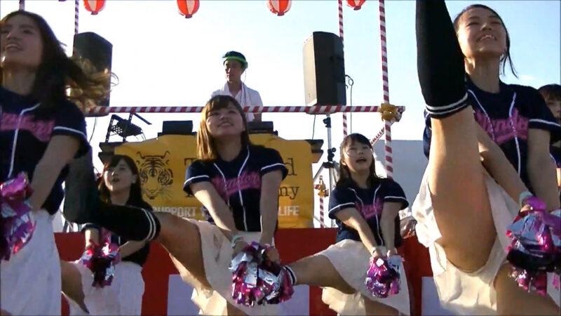 立命館大学チアダンスサークルBLENDERS@Kansai Cheerleader 2017 SummerⅡ 10:15