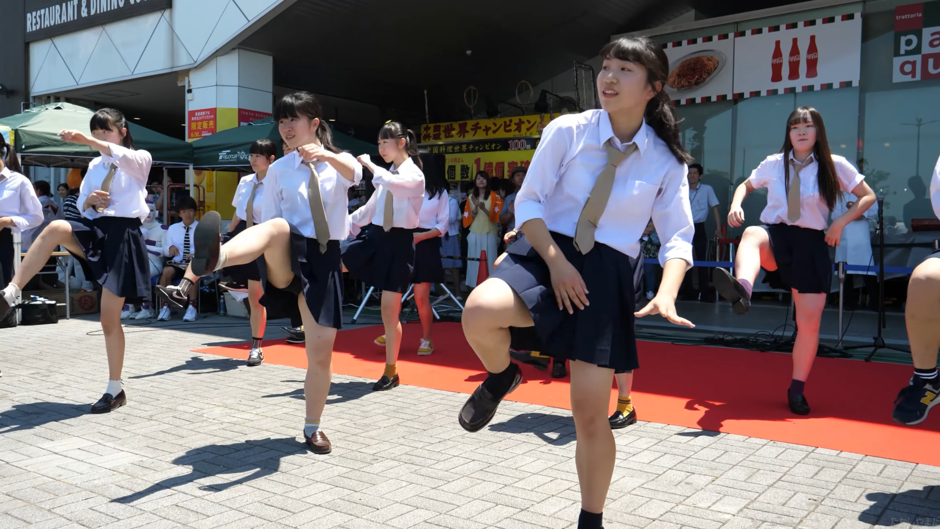 [4k 60p] 海老名高校 ダンス部 - U.S.A. 01:34