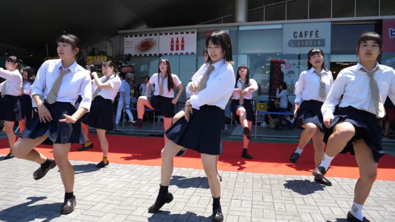 [4k 60p] 海老名高校 ダンス部 - U.S.A. 02:50