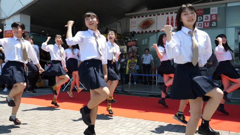 [4k 60p] 海老名高校 ダンス部 - U.S.A. 03:25