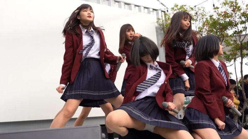 "【4K/α7ⅲ】ハープスター(Japanese idol group ""HARPSTAR"")下北沢あずま通りイカ祭り 2019年12月1日(日) 11:13"