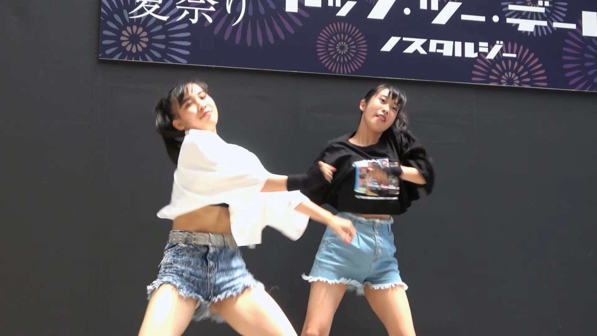 Yu-na Yume TWICE - FANCY 【大丸 夏祭り】 2019 8.4 00:05