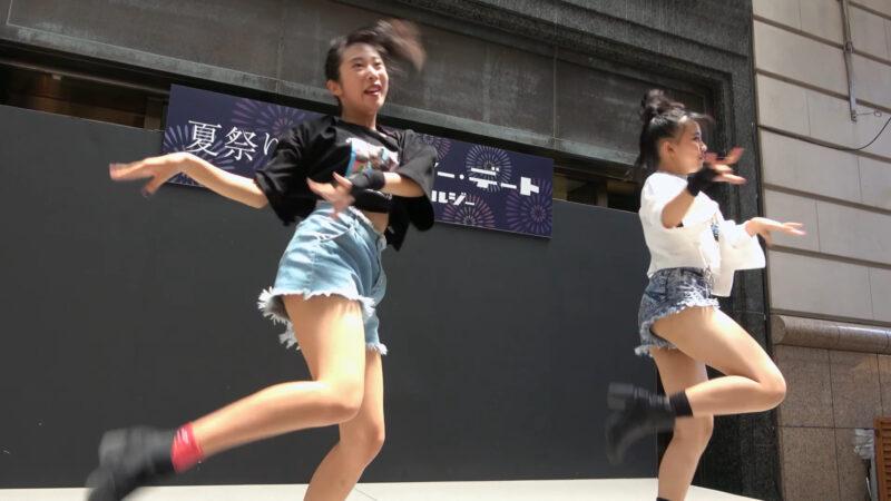 Yu-na Yume TWICE - FANCY 【大丸 夏祭り】 2019 8.4 00:32