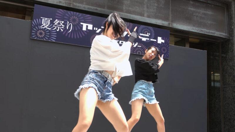 Yu-na Yume TWICE - FANCY 【大丸 夏祭り】 2019 8.4 01:13