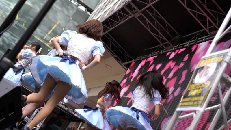 """【4K/α7Rⅲ/SEL55F18Z】アストレイア* (Japanese idol group """"ASTRAIA"""")渋谷パラダイス(シブパラ) 2019年4月29日(祝月) 11:41"""