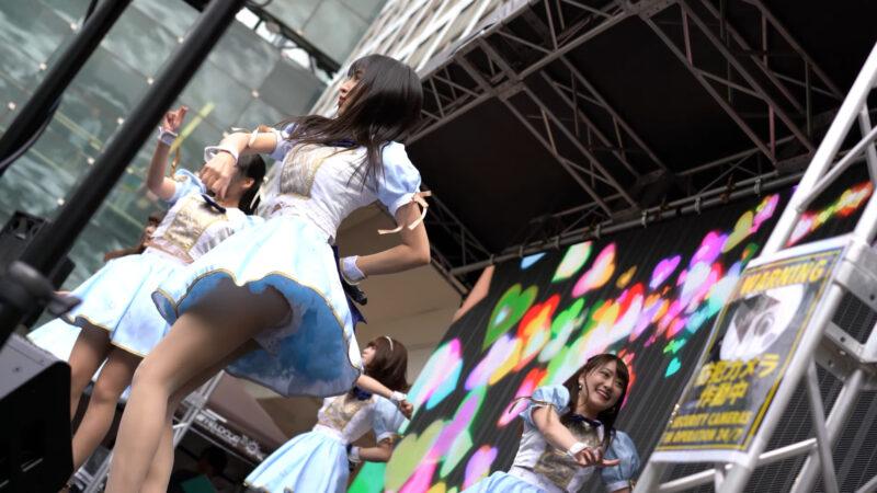 """【4K/α7Rⅲ/SEL55F18Z】アストレイア* (Japanese idol group """"ASTRAIA"""")渋谷パラダイス(シブパラ) 2019年4月29日(祝月) 12:29"""