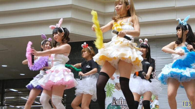 [4K] うさロイド 「さよならマスタード」 アイドル ライブ Japanese idol group 00:29