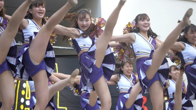 Cheerleading チア ⛪️ 上智大学インカレチアダンスサークル JESTY2018⑧ 2年生ルーティン 💃 00:40
