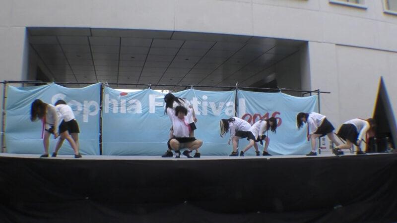小山高校 ダンス部 「行くぜっ!怪盗少女」 01:45