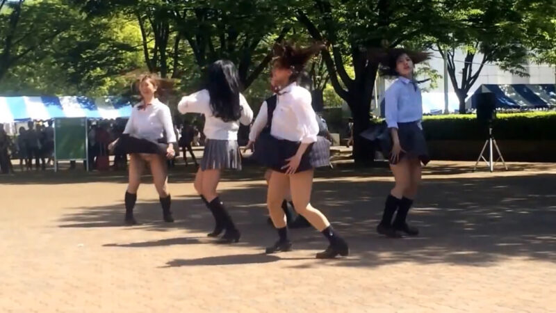 日芸春祭2014 洋舞1年パフォーマンス 03:13