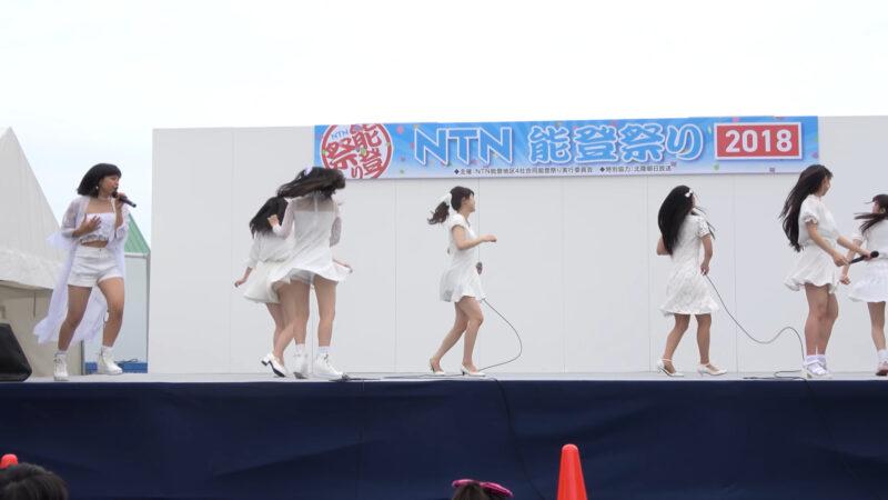 【4K】20180623 ほくりくアイドル部「NTN能登祭り2018」in石川県羽咋市・コスモアイル羽咋 13:15