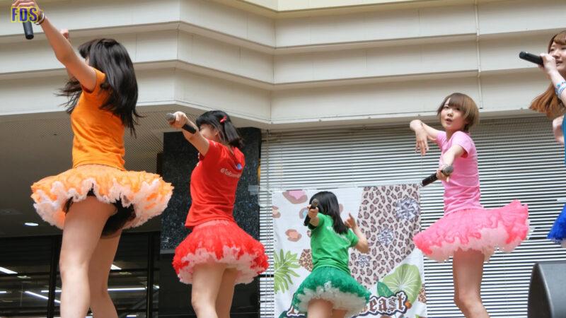 [4K] 匿名ミラージュ 「まっさらブルージーンズ (℃-ute)」 アイドル ライブ Japanese idol group 00:52