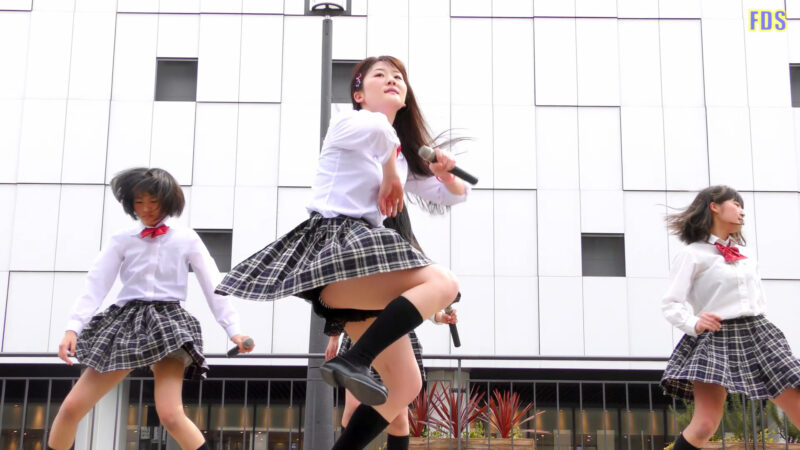 [4K] Culumi 「地獄大夫」 堺・泉州ご当地アイドル ライブ Japanese idol group 02:03