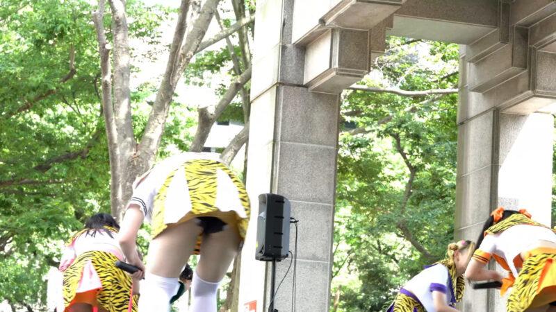 百鬼乙女『警戒距離侵略アイドル』/アイドルキャンパス_ 日比谷公園小音楽堂(2020.08.02)【4K】 02:13