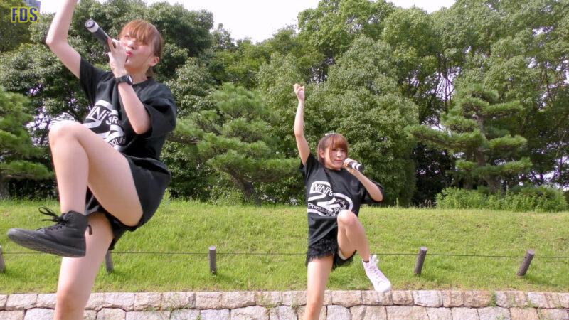[4K] 自らお腹チラ見せするアイドル 「C.P.U !?」「PPCC」 城天 Japanese idol group 02:30