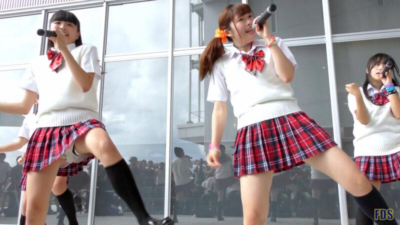 [4K] リリシック学園 「スキちゃん (スマイレージ)」 アイドル ライブ Japanese idol group 03:10