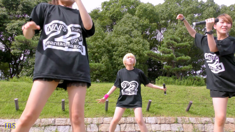 [4K] 自らお腹チラ見せするアイドル 「C.P.U !?」「PPCC」 城天 Japanese idol group 06:35