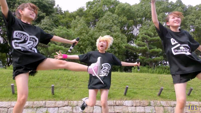 [4K] 自らお腹チラ見せするアイドル 「C.P.U !?」「PPCC」 城天 Japanese idol group 08:02