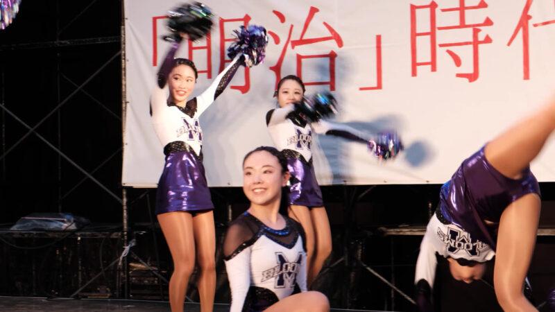 明治大学チアダンスチーム Blooms③ 00:43