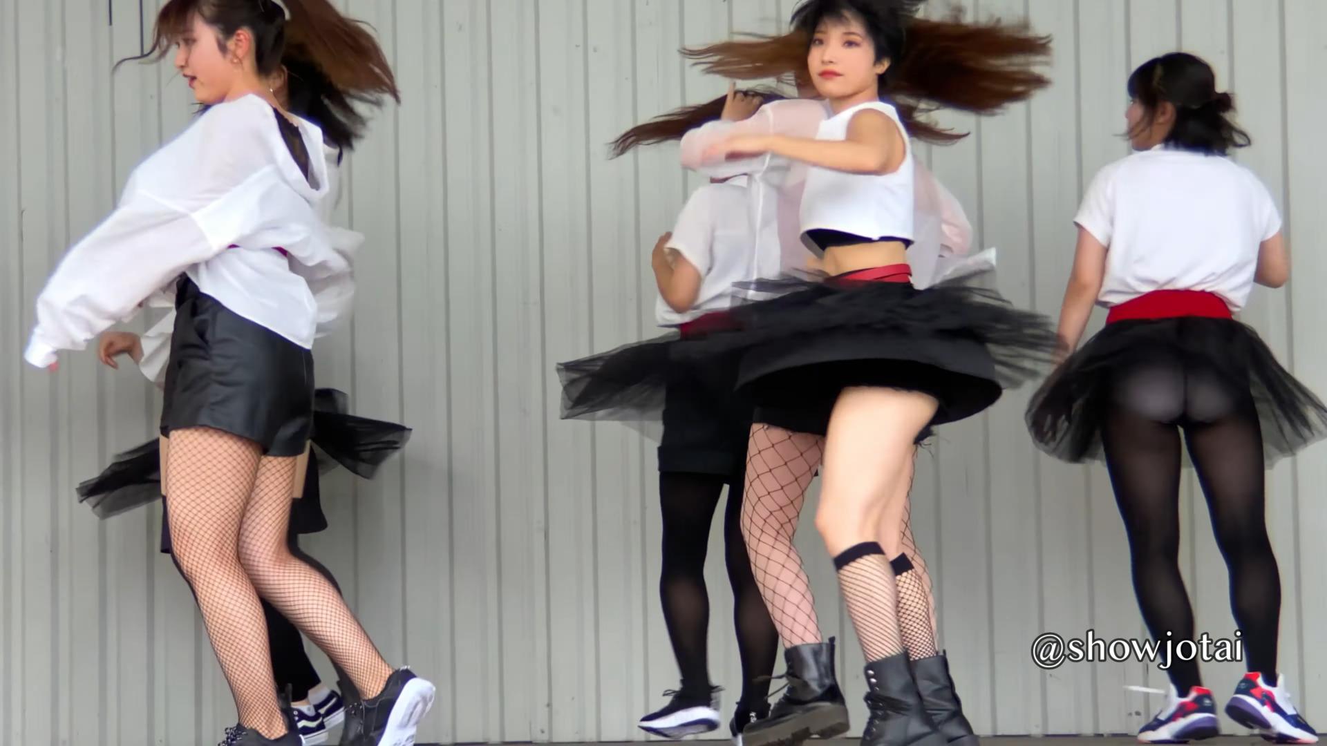 女子ダンス【美脚なお姉さんと盛り上がろう!】Japanese Girls Dance 01:07