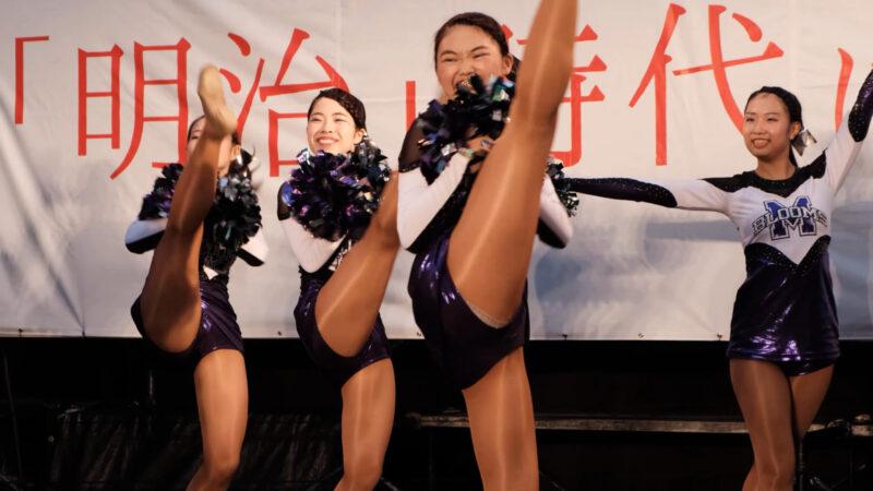 明治大学チアダンスチーム Blooms② 01:11