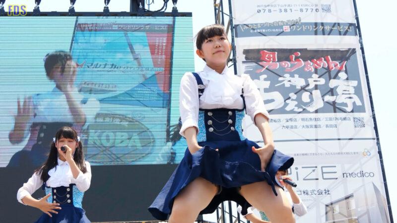 [4K] インフローレ女学院 「勇気」 アイドル ライブ Japanese idol group 01:39