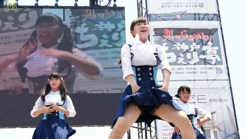 [4K] インフローレ女学院 「勇気」 アイドル ライブ Japanese idol group 01:53