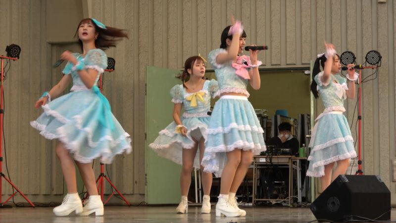 2020/12/6 ハッピースマイル♡シンデレラ アイドルキャンパス(上野恩賜公園野外ステージ) 01:57