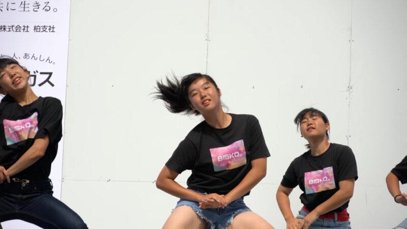 ✨Furusato Tanaka Mikoshi Festival 2019👧High school dance club Stage ふるさと田中みこし祭り⭐ 00:09