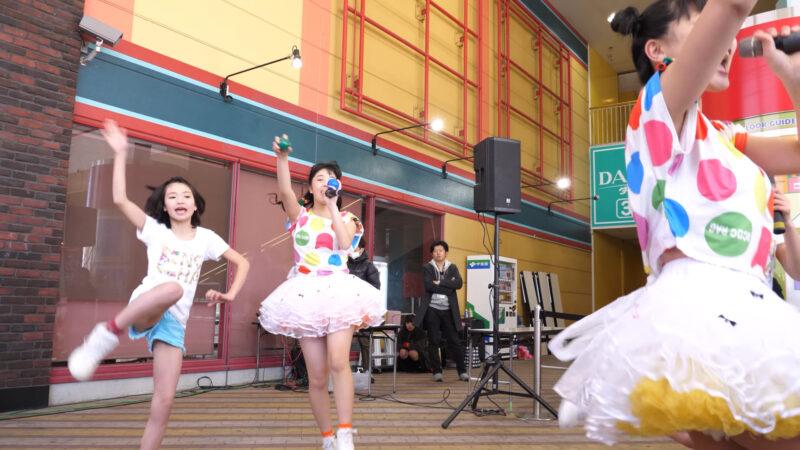 愛の葉Girls【虹色マジック】岡山ジョイポリス×IDOL合同定期公演 Vol.61 第一部 00:27