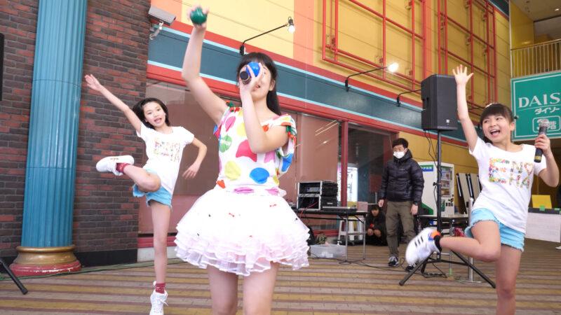 愛の葉Girls【虹色マジック】岡山ジョイポリス×IDOL合同定期公演 Vol.61 第一部 00:32