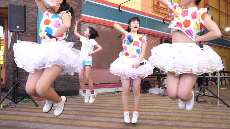 愛の葉Girls【虹色マジック】岡山ジョイポリス×IDOL合同定期公演 Vol.61 第一部 00:52