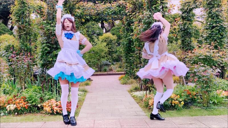 【七海ミーナ×青波さえ】あいこめ♡フォーエバー 【踊ってみた】 01:00