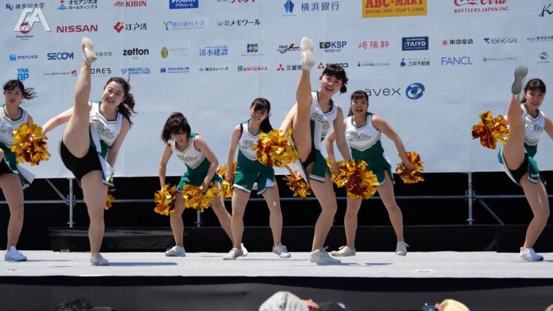 """【関東学院チアダンス】横浜セントラルタウンフェスティバル""""Y160""""チアリーディング vol.2 - Yokohama Central Town Festival Cheer Dance - 01:10"""