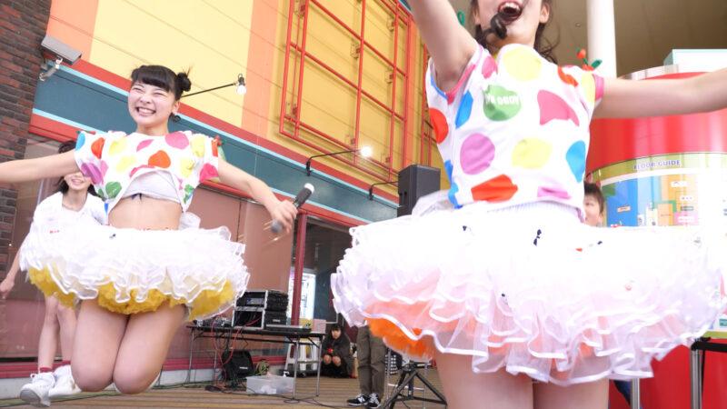 愛の葉Girls【虹色マジック】岡山ジョイポリス×IDOL合同定期公演 Vol.61 第一部 01:22