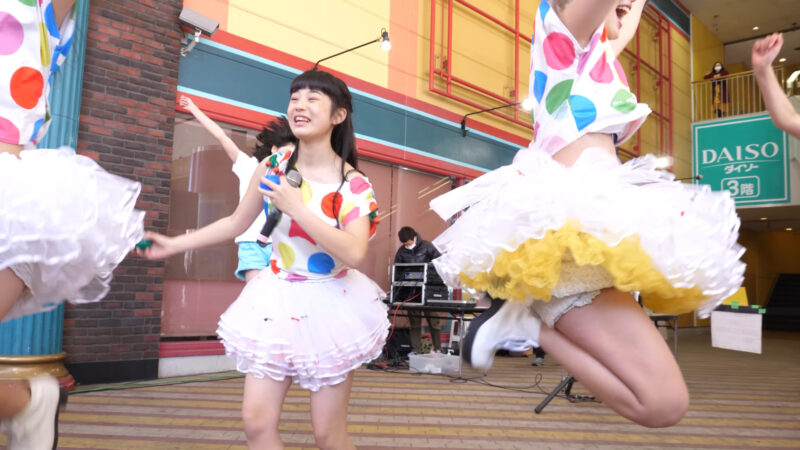 愛の葉Girls【虹色マジック】岡山ジョイポリス×IDOL合同定期公演 Vol.61 第一部 01:38