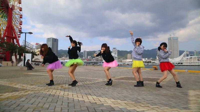 【もすクロ】PUSH【踊ってみた】@神戸ハーバーランド 01:56-001