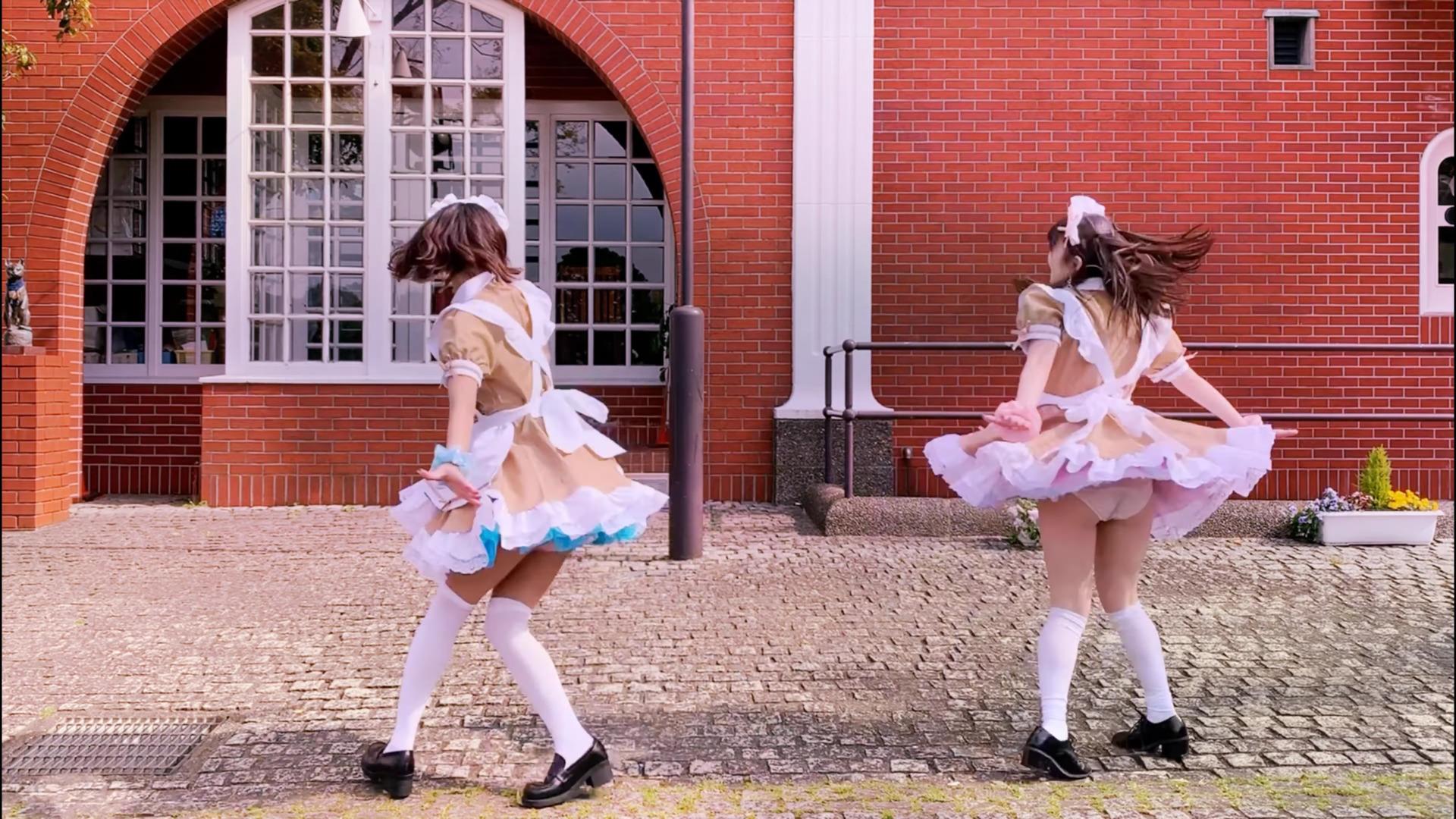 【七海ミーナ×青波さえ】あいこめ♡フォーエバー 【踊ってみた】 03:07-001