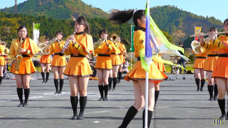 京都橘高校 吹奏楽部 大江山酒呑童子祭り マーチングドリル (前半) Kyoto Tachibana SHS Band [4K] 00:40