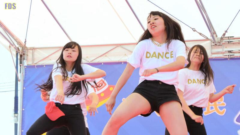 ヒップホップダンス 高校生チーム JK HIP-HOP Dance ステージ [4K] 00:46