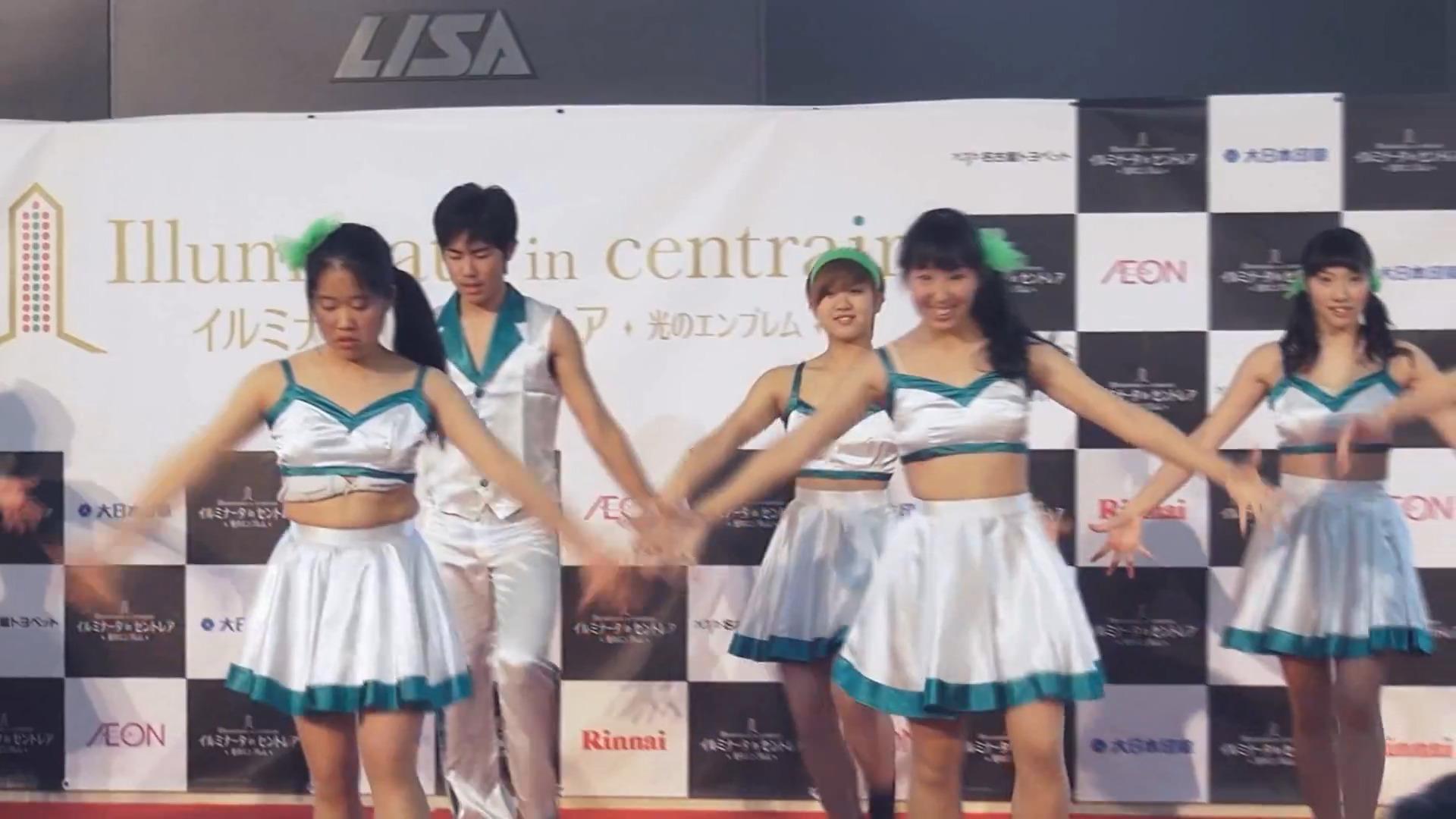 名古屋文化短期大学 Jr. ダンスサークル at Centrair 01:00